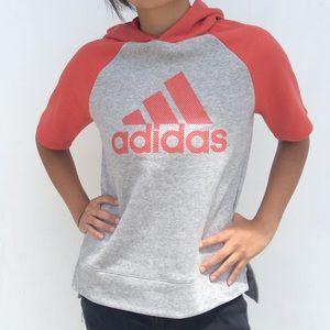 Adidas Hoodie Sport Sweat Shirt Women's Small